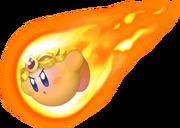 Burning Kirby KDL3D