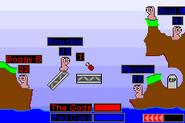 Worms Advance GBA Screenshot 3