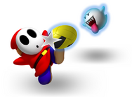 Boo and Shy Guy