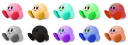 Kirby Palettes