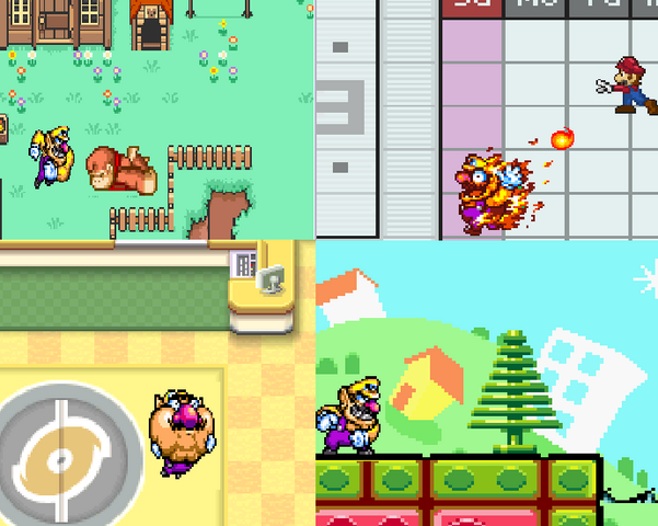 File:SSBB Wario pictures.PNG