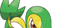 Snivy and The Titan's Curse