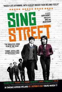 Sing Street UK 2016 Poster