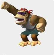 Funky Kong punch