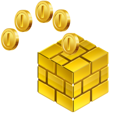 File:Gold Block 3D.png