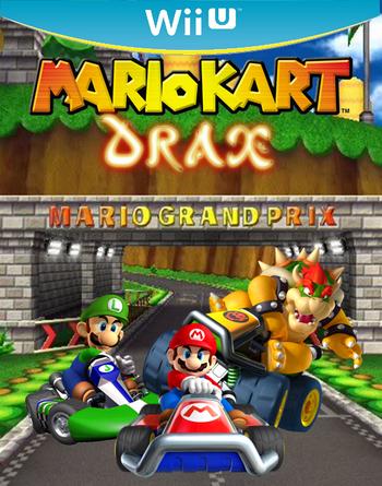 Mario Kart Drax Box-Art by Nova