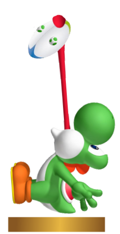 File:Mario Rugby Trophy - Yoshi.png