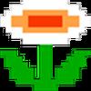 Retro Fire Flower