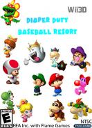 Diaper Duty Baseball Resort Wii3D BETA NTSC