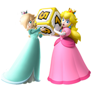 Rosalina and peach