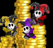 Joker guys and coins