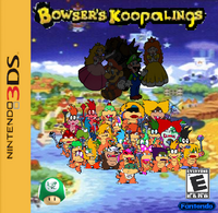 Bowser's Koopalings 3DS Box art
