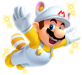 Invincibility Raccoon Mario - New Super Mario Bros 2