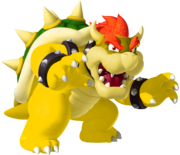 Gold Bowser by Lumogo