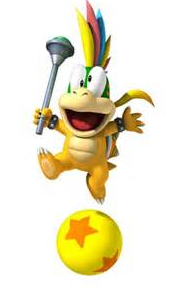 Lemmy Koopa and ball