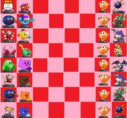 Amiibo Chess Kirby Bourd
