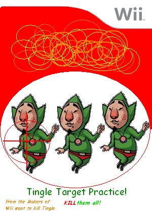 Tingle Target Practice Cover Art