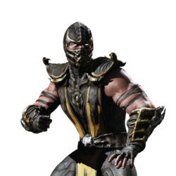 Mortal kombat x ios scorpion render 3 by wyruzzah-d8p0m53