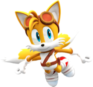 Sonic boom new tails render