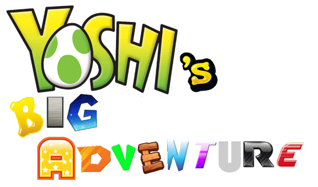 File:Yoshi's Big Adventure LOGO.png