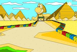 GBA Yoshi Desert