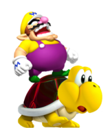 Wario on Koopa Krawler