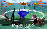 Evangelion The Angel Wars Logo