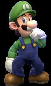 Luigi render by znkhucast-d78bvo2