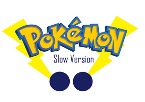 Pokemon Slow Version Logo