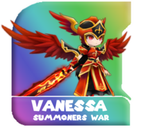 Summoners War - Vanessa (Awakened Valkyrja) - RENDER by Avishay Perets ApK - 5