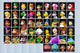 Mario Kart 8 Wii U Beta Element Screen