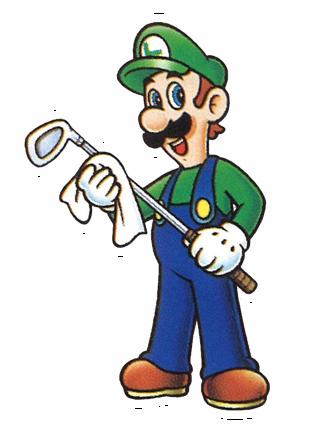 MarioGolfBadge Luigi