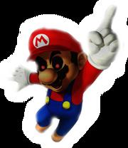 Posessed Mario