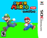 Super Mario amiibo Tap Box Art