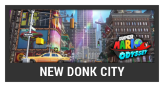 ACL -- Super Smash Bros. Switch stage box - New Donk City