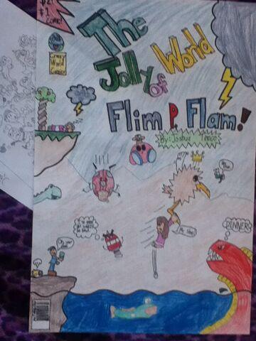 File:Flim P Flam Comic Cover.JPG