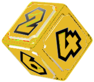 Golden Dice Block