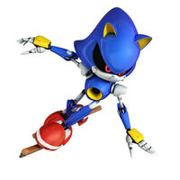 Metal Sonic Winter