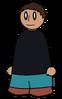 Pants Dark Cyan Generic
