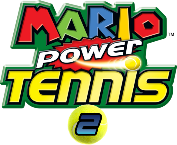 File:Mario Power Tennis 2 Logo.png