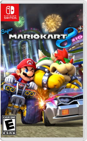 Super Mario Kart 8 plus