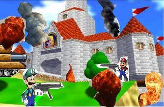 Mario War gameplay 2