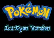 Pokemon Ice-Cyan Version Logo