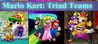 Mario Kart Triad Teams Logo