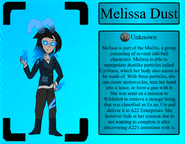 MelissaDustProfile