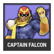 ACL -- Super Smash Bros. Switch character box - Captain Falcon