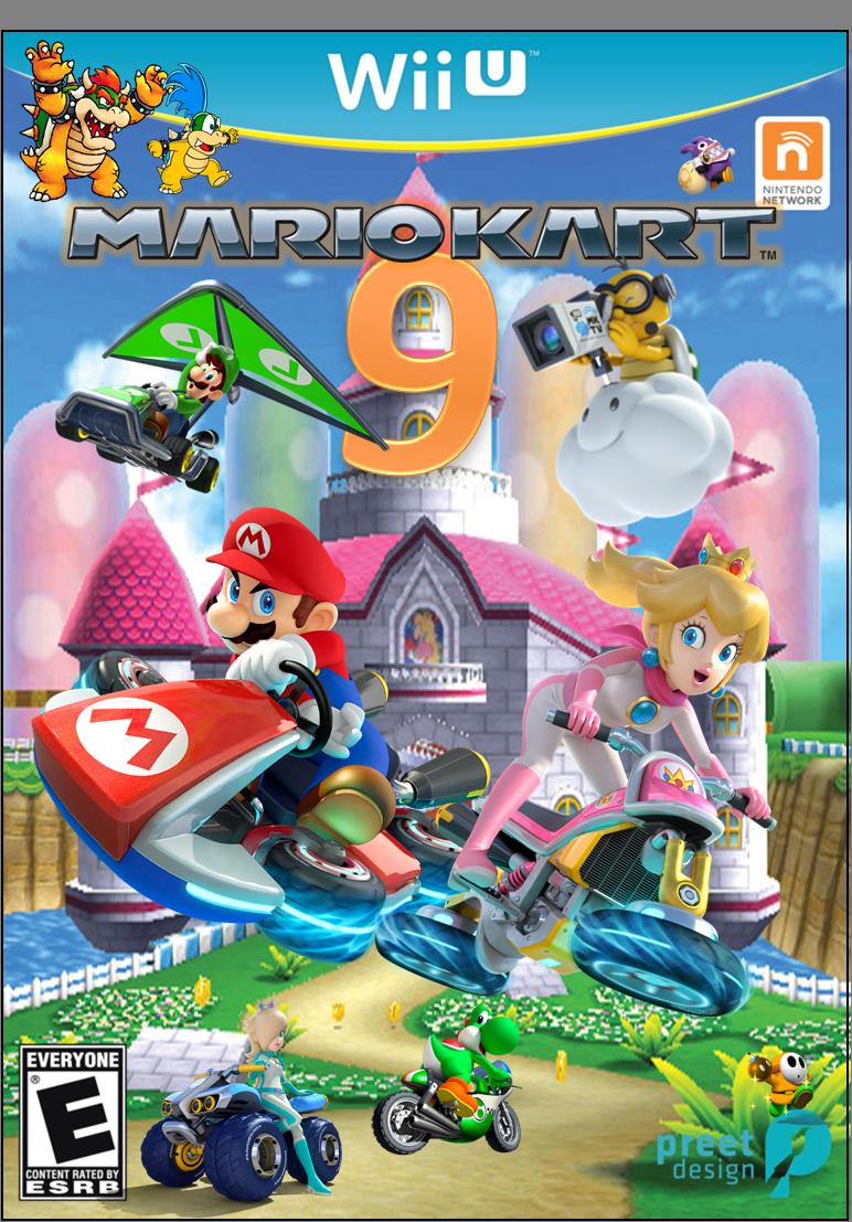 Mario Kart 9 exclusive To Wii U Fantendo Nintendo Fanon Wiki