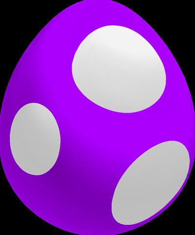 File:Purple Baby Yoshi Egg.png