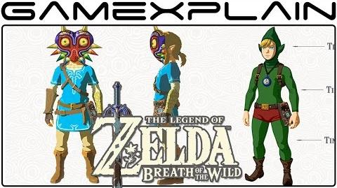 Zelda Breath of the Wild DLC Pack 1 REVEALED (Tingle Costume, Sword Trial, Map Feature, & More!)