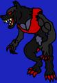 Territorial Sabrewulf Dark Wolf